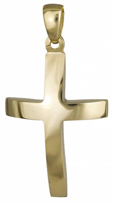 Σταυροί Βάπτισης - Αρραβώνα Βαπτιστικός χρυσός σταυρός 14Κ 019686 019686 Ανδρικό Χρυσός 14 Καράτια