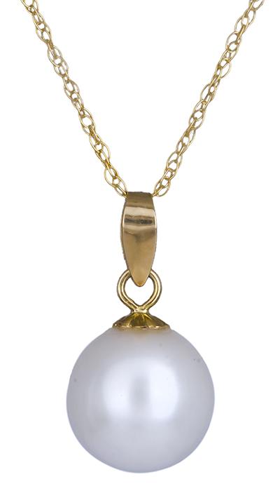 Κολιέ με μαργαριτάρι Κ18 019698 019698 Χρυσός 18 Καράτια