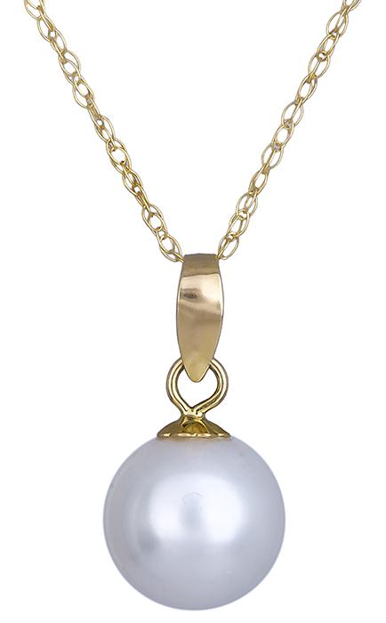 Κολιέ με μαργαριτάρι Κ18 019700 019700 Χρυσός 18 Καράτια