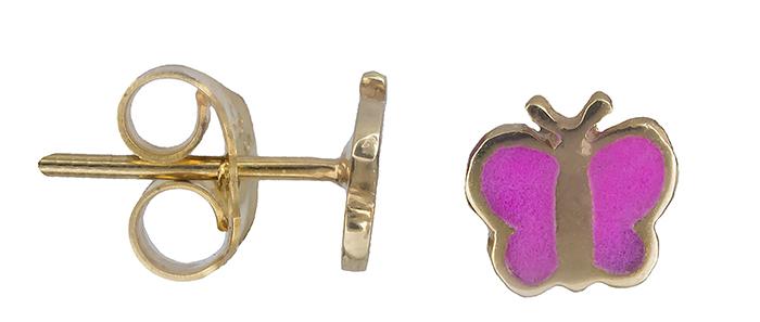 Παιδικά χρυσά σκουλαρίκια 019791 019791 Χρυσός 14 Καράτια