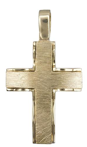 Σταυροί Βάπτισης - Αρραβώνα Χρυσός σταυρός 14Κ 019943 019943 Ανδρικό Χρυσός 14 Καράτια