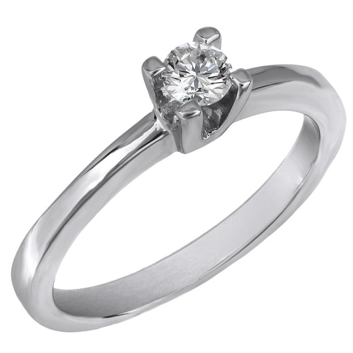 Δαχτυλίδι μονόπετρο Κ18 020108 020108 Χρυσός 18 Καράτια