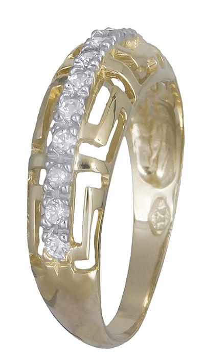 Δαχτυλίδι μαίανδρος Κ14 019926 019926 Χρυσός 14 Καράτια