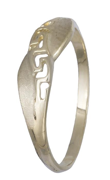 Χειροποίητο δαχτυλίδι 14Κ 019930 019930 Χρυσός 14 Καράτια