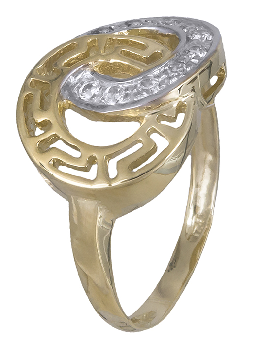 Χρυσό δαχτυλίδι Κ14 019938 019938 Χρυσός 14 Καράτια