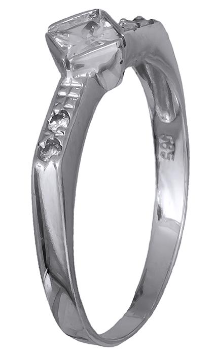 Γυναικείο δαχτυλίδι με ζιργκόν Κ14 020063 020063 Χρυσός 14 Καράτια