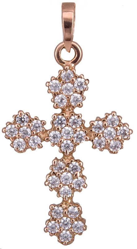 Σταυροί Βάπτισης - Αρραβώνα Γυναικείος σταυρός πετράτος Κ14 020194 020194 Γυναικείο Χρυσός 14 Καράτια