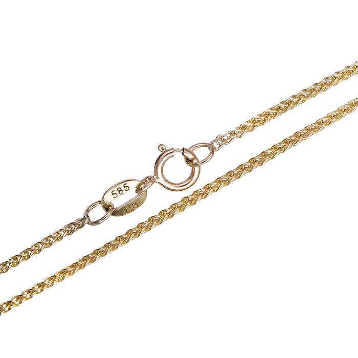 Χρυσή αλυσίδα λαιμού Κ14 020220 020220 Χρυσός 14 Καράτια χρυσά κοσμήματα αλυσίδες   καδένες