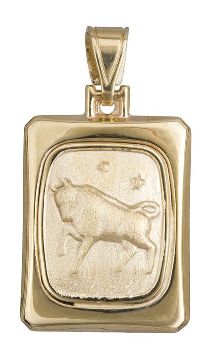 Χρυσό Ζώδιο Ταύρος Κ14 020328 020328 Χρυσός 14 Καράτια