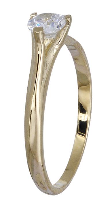Χρυσό Δαχτυλίδι Κ14 020444 020444 Χρυσός 14 Καράτια