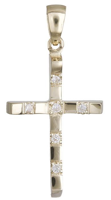 Σταυροί Βάπτισης - Αρραβώνα Σταυρός κόσμημα Κ14 020456 020456 Γυναικείο Χρυσός 14 Καράτια