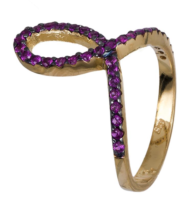 Δαχτυλίδι γυναικείο επίχρυσο 925 020594 020594 Ασήμι