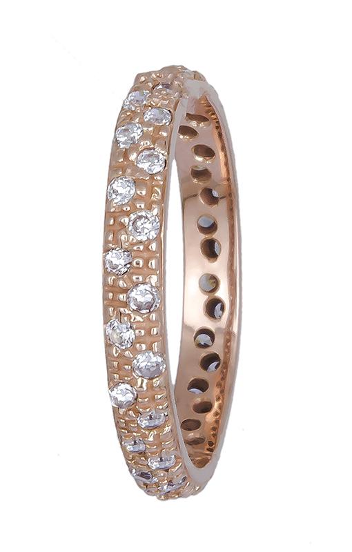 Δαχτυλίδι γυναικείο ροζ χρυσό 14Κ 020763 020763 Χρυσός 14 Καράτια