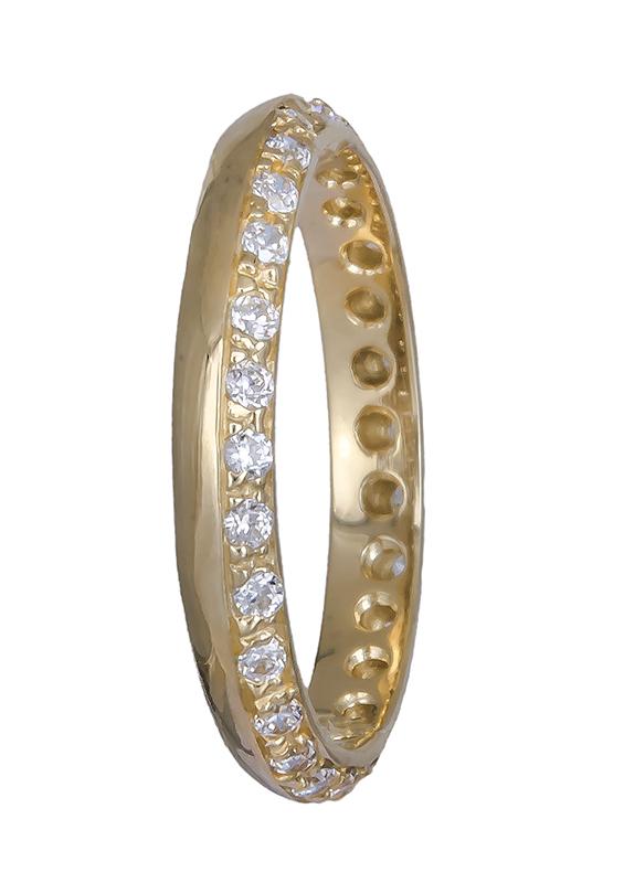 Γυναικείο δαχτυλίδι χρυσό 14Κ 020777 020777 Χρυσός 14 Καράτια