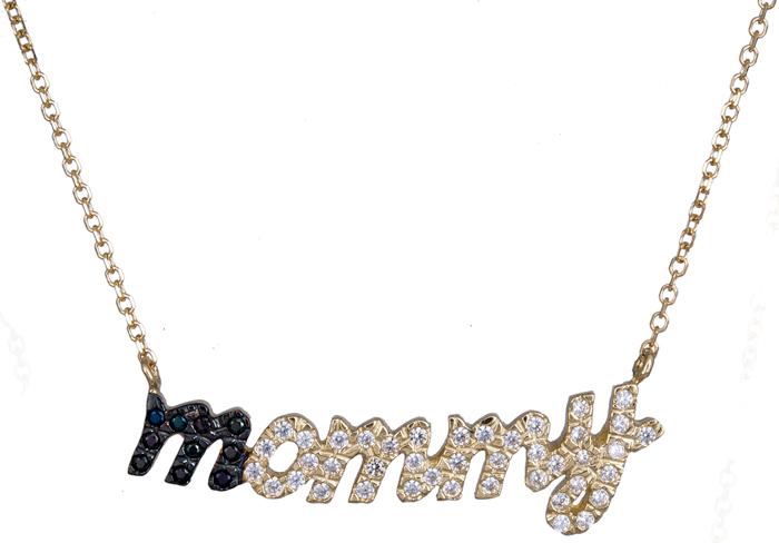 Κολιέ χρυσό mommy 020853 020853 Χρυσός 14 Καράτια