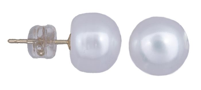 Χρυσά σκουλαρίκια Κ14 με μαργαριτάρια 020924 020924 Χρυσός 14 Καράτια χρυσά κοσμήματα σκουλαρίκια καρφωτά