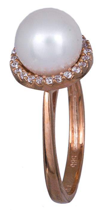 Γυναικείο δαχτυλίδι με μαργαριτάρι Κ14 020933 020933 Χρυσός 14 Καράτια