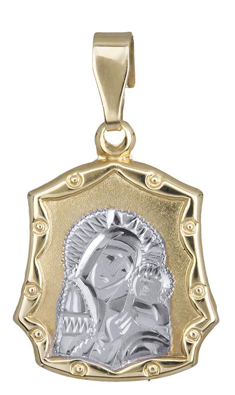 Χρυσό φυλαχτό Παναγία Κ14 021007 021007 Χρυσός 14 Καράτια