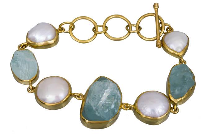 Βραχιόλι χειροποίητο με ορυκτές πέτρες 925 021046 021046 Ασήμι ασημένια κοσμήματα βραχιόλια