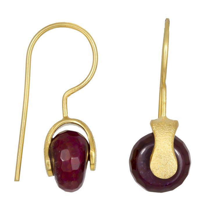 Γυναικεία κρεμαστά σκουλαρίκια 925 021225 021225 Ασήμι