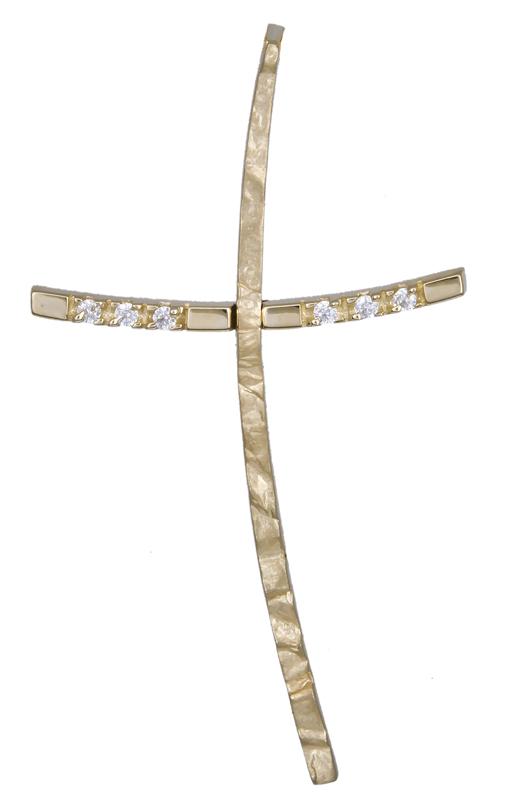 Σταυροί Βάπτισης - Αρραβώνα Χρυσός σταυρός Κ14 021254 021254 Γυναικείο Χρυσός 14 Καράτια