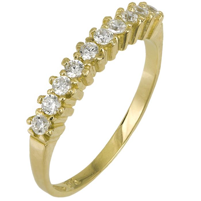 Χρυσό δαχτυλίδι σειρέ 9K 016765 016765 Χρυσός 9 Καράτια