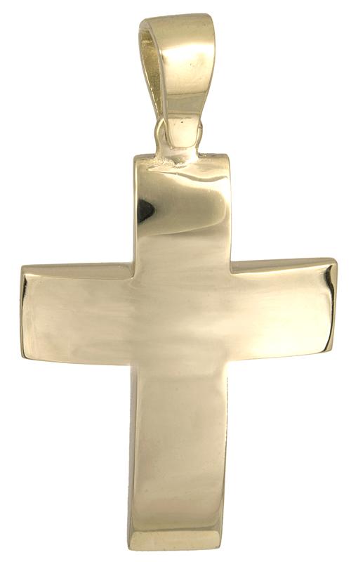Σταυροί Βάπτισης - Αρραβώνα Αντρικός χρυσός σταυρός Κ14 021466 021466 Ανδρικό Χρυσός 14 Καράτια