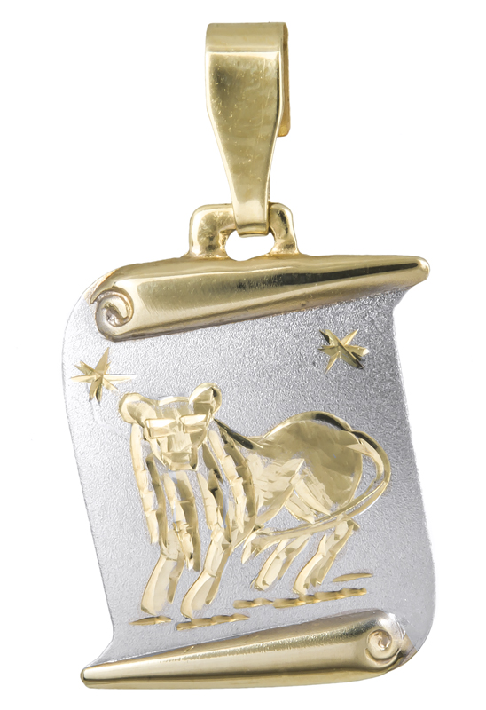 Χρυσό ζώδιο Λέων Κ14 021564 021564 Χρυσός 14 Καράτια