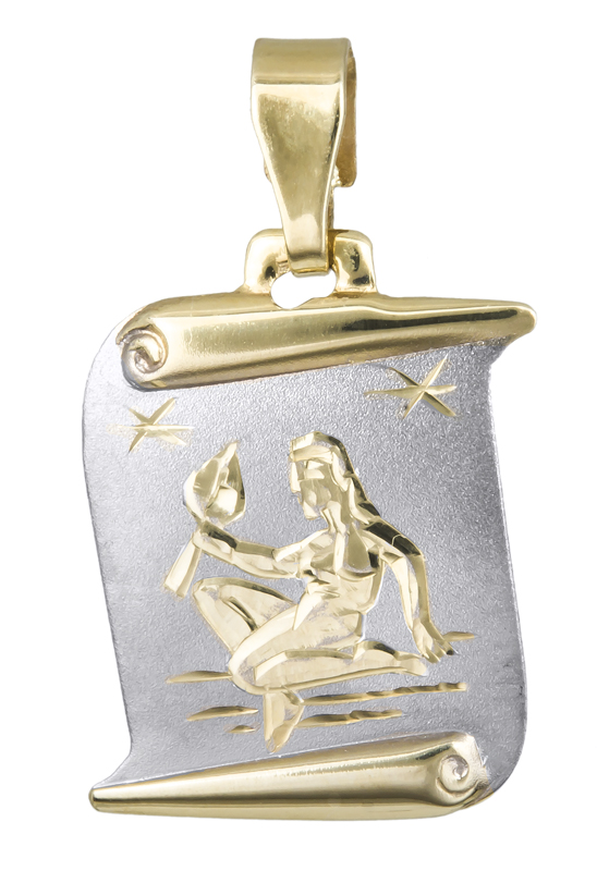 Ζώδιο του Παρθένου σε χρυσό 14Κ 021565 021565 Χρυσός 14 Καράτια