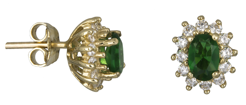 Σκουλαρίκια χρυσά Κ14 021627 021627 Χρυσός 14 Καράτια