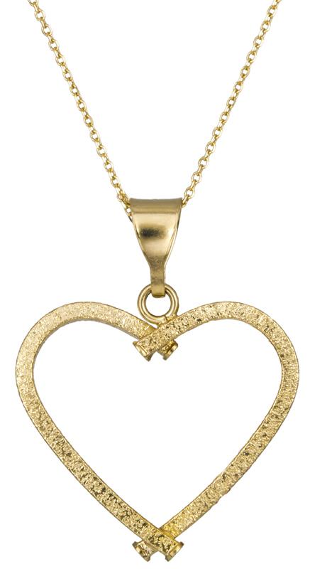 Χρυσό κολιέ καρδούλα 14Κ C021679 021679C Χρυσός 14 Καράτια