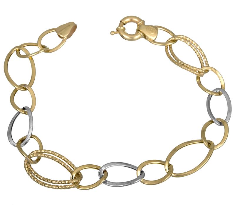 Γυναικείο βραχιόλι Κ14 021695 021695 Χρυσός 14 Καράτια