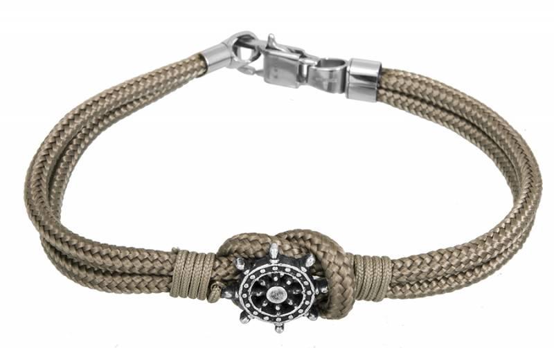 Αντρικό βραχιόλι πυξίδα με κορδόνι BG/7192G BG/7192G Ατσάλι fashion jewels ascot βραχιόλια   χειροπέδες