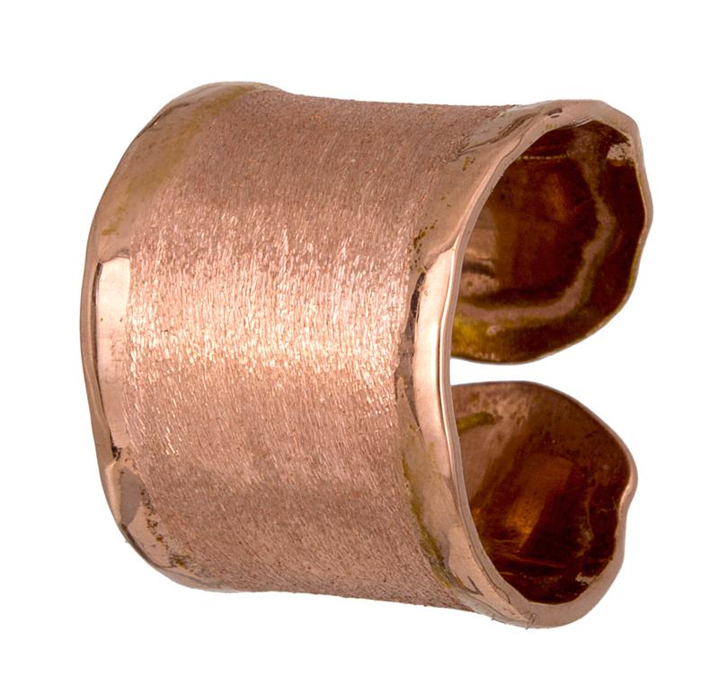 Ροζ επίχρυσο δαχτυλίδι σεβαλιέ 925 021859 021859 Ασήμι