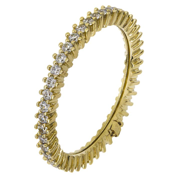Χρυσό ολόγυρο δαχτυλίδι Κ14 021866 021866 Χρυσός 14 Καράτια