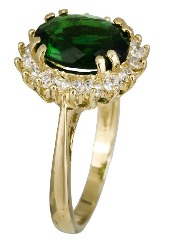 Χρυσό δαχτυλίδι ροζέτα 14Κ 021959 021959 Χρυσός 14 Καράτια χρυσά κοσμήματα δαχτυλίδια μονόπετρα