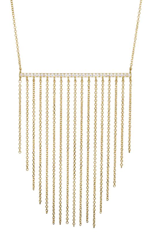 Χρυσό κολιέ με αλυσίδες Κ14 022031 022031 Χρυσός 14 Καράτια χρυσά κοσμήματα κολιέ
