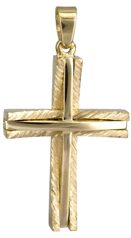 Σταυροί Βάπτισης - Αρραβώνα Χρυσός σταυρός 14Κ 022042 022042 Ανδρικό Χρυσός 14 Καράτια