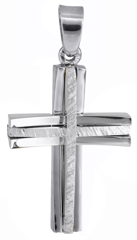 Σταυροί Βάπτισης - Αρραβώνα Βαπτιστικός σταυρός για αγόρι 14Κ 022045 022045 Ανδρικό Χρυσός 14 Καράτια