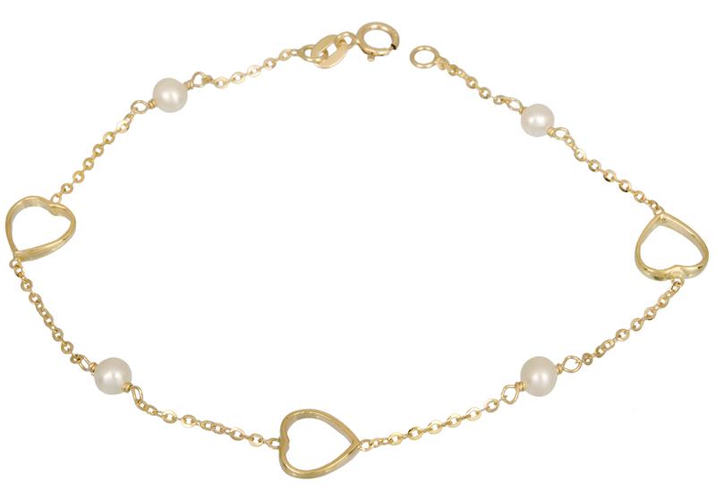 Γυναικείο βραχιόλι Κ14 022103 022103 Χρυσός 14 Καράτια