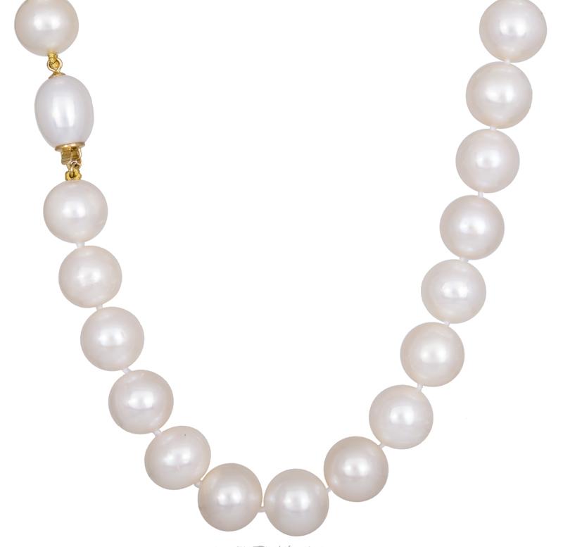 Κολιέ με μαργαριτάρια Κ18 022108 022108 Χρυσός 18 Καράτια