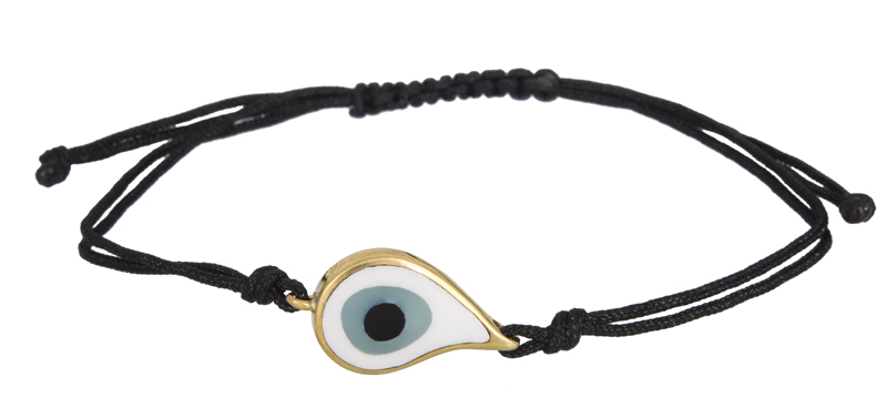 Βραχιόλι γυναικείο με ματάκι 925 022237 022237 Ασήμι ασημένια κοσμήματα βραχιόλια