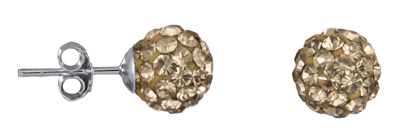 Ασημένια πετράτα σκουλαρίκια 925 022252 022252 Ασήμι