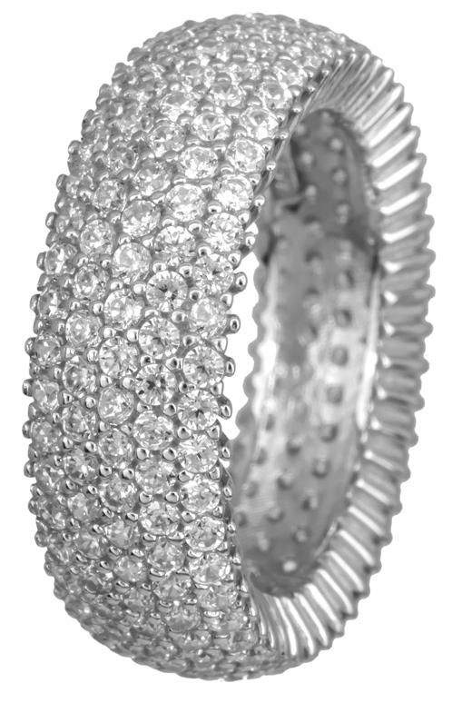 Γυναικείο δαχτυλίδι Κ14 με ζιργκόν 022304 022304 Χρυσός 14 Καράτια