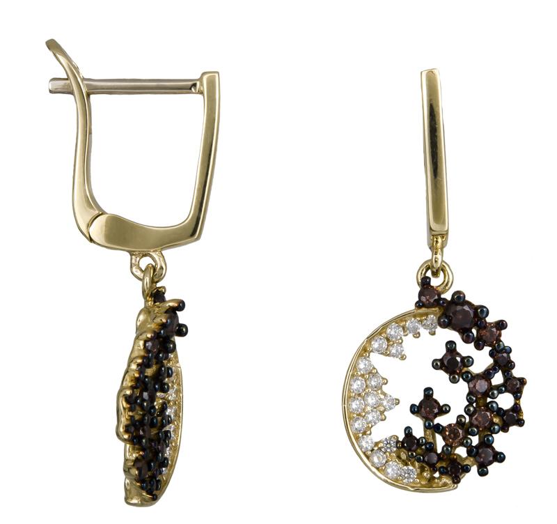 Χρυσά σκουλαρίκια Κ14 022324 022324 Χρυσός 14 Καράτια