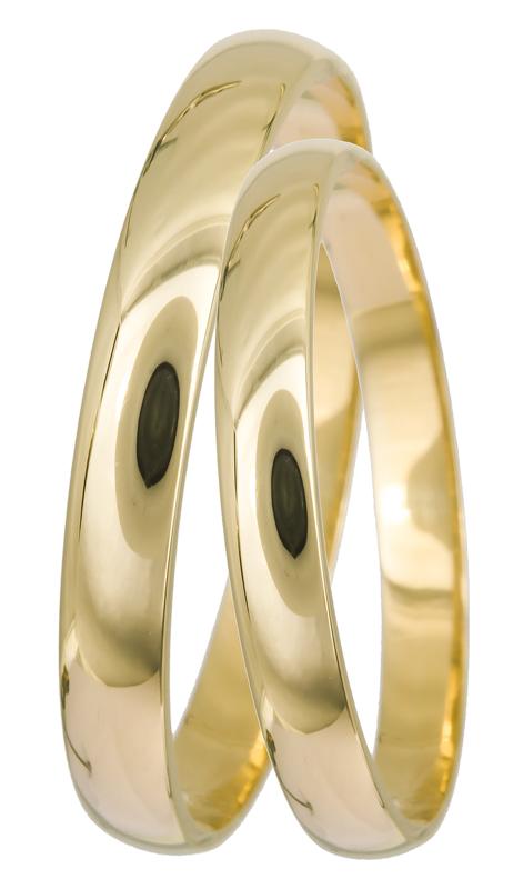 Χρυσές κλασικές βέρες Κ14 022331 022331 Χρυσός 14 Καράτια