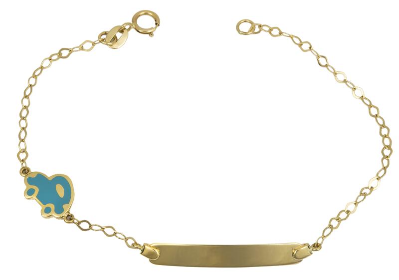 Αγορίστικη ταυτότητα Κ14 022414 022414 Χρυσός 14 Καράτια