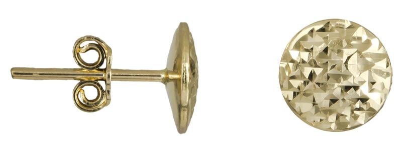 Χρυσά γυναικεία σκουλαρίκια Κ14 022441 022441 Χρυσός 14 Καράτια