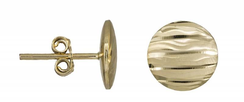 Γυναικεία χρυσά σκουλαρίκια Κ14 022444 022444 Χρυσός 14 Καράτια