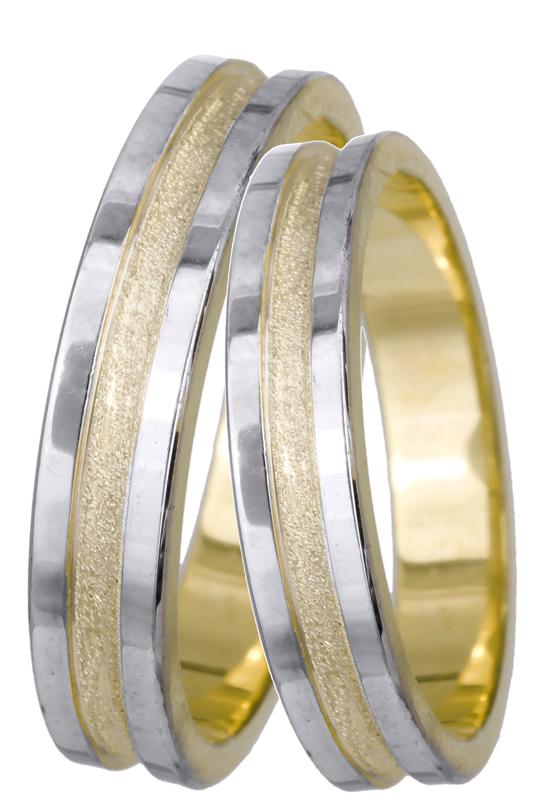 Βέρες γάμου Κ14 022500 022500 Χρυσός 14 Καράτια